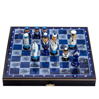 Шахматы Морская карта