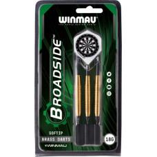 Дротики Winmau Broadside Brass softip 18gr (начальный уровень)