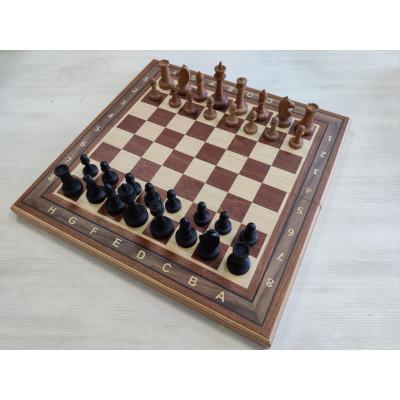 Шахматы Турнир красное дерево с утяжелением