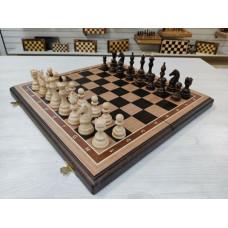 Шахматы резные Бастион дубовые