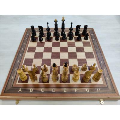 Шахматы Клен презент элит красное дерево