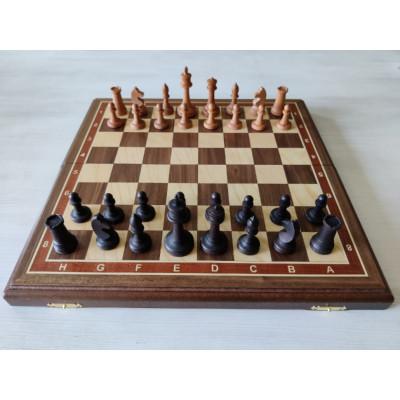 Шахматы этюд орех средние с утяжелением