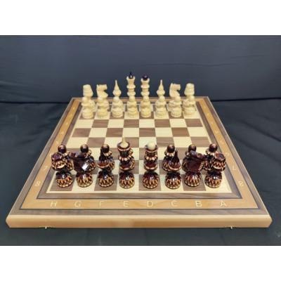 Шахматы резные Точенка орех