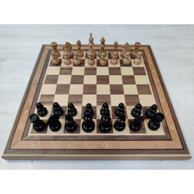 Шахматы премиальные из бука и ореха