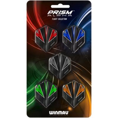 Набор из 5-ти комплектов оперений Winmau Prism Alpha Collection 8119