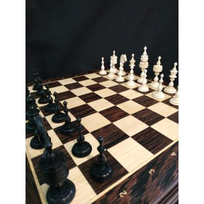 Шахматы Эксклюзивные Наследие из Бивня Мамонта