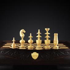 Шахматы  Режанс  из черного дерева