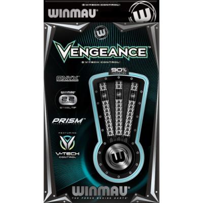 Дротики Winmau Vengeance steeltip 22gr (профессиональный уровень)