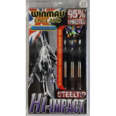 Дротики Winmau Hi-Impact steeltip 23gr (профессиональный уровень)