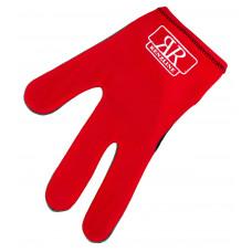 Перчатка бильярдная «RenzLine Bicolor» (красная)