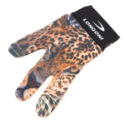 Перчатка бильярдная «Longoni Fancy Leopard»