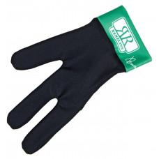 Перчатка бильярдная «Renzline» (черно-зеленая)