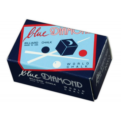 Мел «Blue Diamond» (2 шт) синий