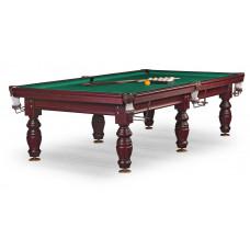 Бильярдный стол для русского бильярда «Дебют» 10 ф (махагон, плита 25 мм, 6 ног)