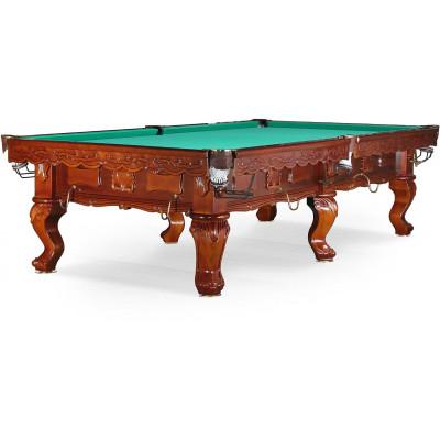 Бильярдный стол для русского бильярда «Gogard» 10 ф (орех пекан)