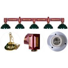 Лампа на пять плафонов «Dandy» 11 ф