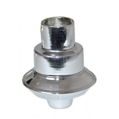 Декоративный наконечник для штанги (серебристый)