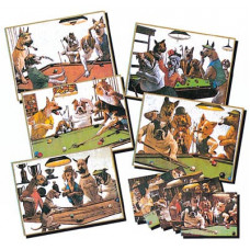 """Зеркало-постер """"Doggies"""" (1 шт)"""