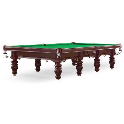 Бильярдный стол для русского бильярда «Dynamic Prince» 12 ф (махагон)