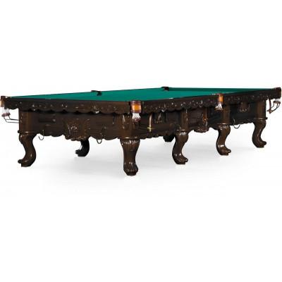 Бильярдный стол для снукера «Gogard» 12 ф (черный орех)