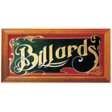 "Зеркало-постер ""Billiard"""