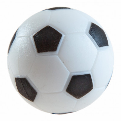 Мяч для настольного футбола AE-01, текстурный пластик D 36 мм (черно-белый)