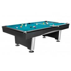 Бильярдный стол для пула «Dynamic Triumph» 7 ф (черный) в комплекте, аксессуары + сукно