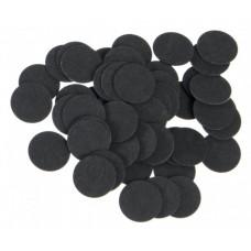 Фибра упаковка 50 шт. (чёрная, 1 мм, н/д 16мм)