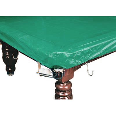 Покрывало для стола 8 ф (влагостойкое, зеленое, резинки на лузах)