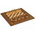 Шахматы + нарды резные с гранатами 30, Haleyan