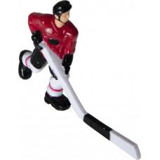 Хоккеист №32, длинная клюшка «Edmonton» (красный)