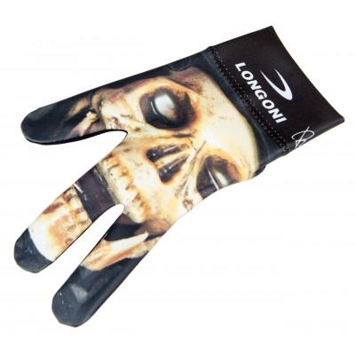 Перчатка бильярдная «Longoni Fancy Skull 3»
