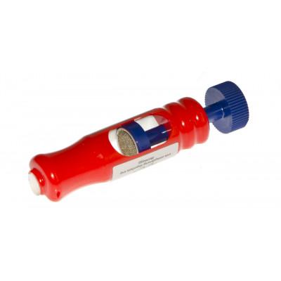 Точилка «Эффе» (триколор, пластик, диаметр наклейки 12,2 - 12,6 мм)