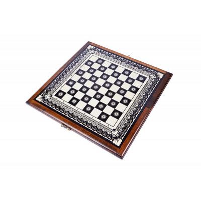 Доска шахматная инкрустация 40 Haleyan
