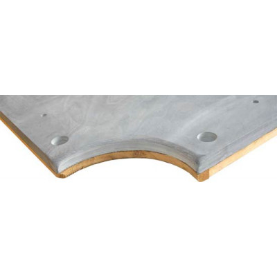 Плита «Italian Slate Mondialardesia» 10 ф (38 мм, 5-pc) пирамида / снукер