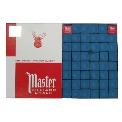 """Мел """"Master"""" (144 шт) синий"""