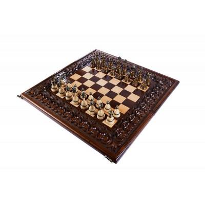 Шахматы резные Королевские 60, Haleyan