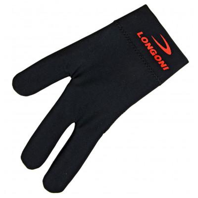 Перчатка бильярдная «Longoni Nero» (черная)