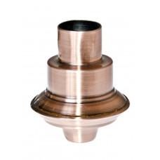 Декоративный наконечник для штанги (бронзовый)