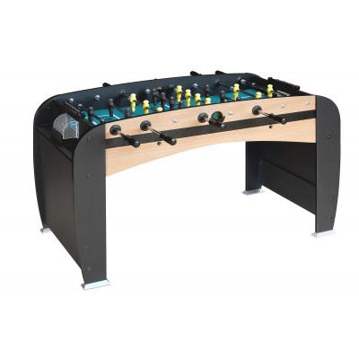 Настольный футбол (кикер) «Rialto» (141x73x82 см, светло-черный)