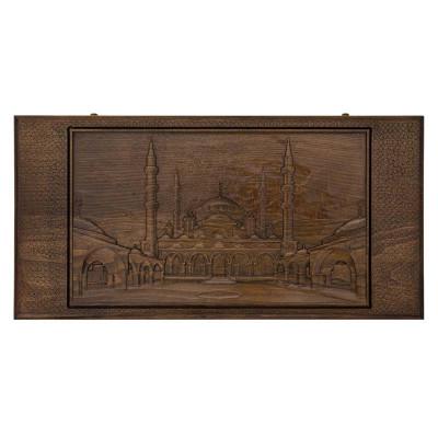 Нарды резные Мечеть в Грозном, Rasulov