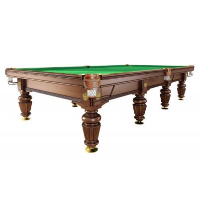Бильярдный стол для русского бильярда «Dynamic Noble» 12 ф (орех)