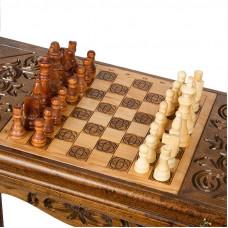 Стол ломберный Нарды + Шахматы, Ustyan