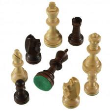 Шахматные фигуры Стаунтон 7 в полиэтиленовой упаковке, Madon