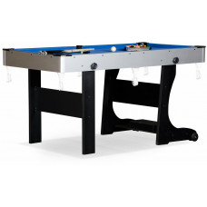 Складной бильярдный стол для пула «Team I» 5 ф (черный) ЛДСП