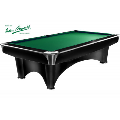 Бильярдный стол для пула «Dynamic III» 9 ф (черный)