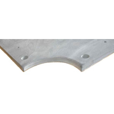 Плита «Premium-Quality Rasson» 8 ф (25 мм, 3-pc) пирамида