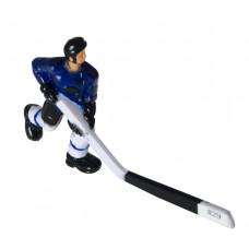 Хоккеист №29, длинная клюшка «Edmonton» (синий)