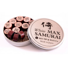 Наклейка для кия «Rei Samurai White» (MAX) 14 мм
