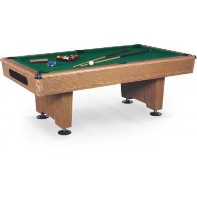Бильярдный стол для пула «Eliminator» 7 ф (дуб) в комплекте, аксессуары + сукно